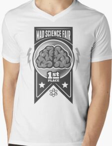 First Place at the Mad Science Fair Mens V-Neck T-Shirt
