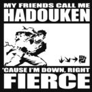 Street Fighter - Down, Right, Fierce by Habeeb