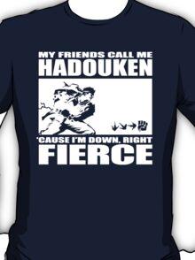 Street Fighter - Down, Right, Fierce T-Shirt