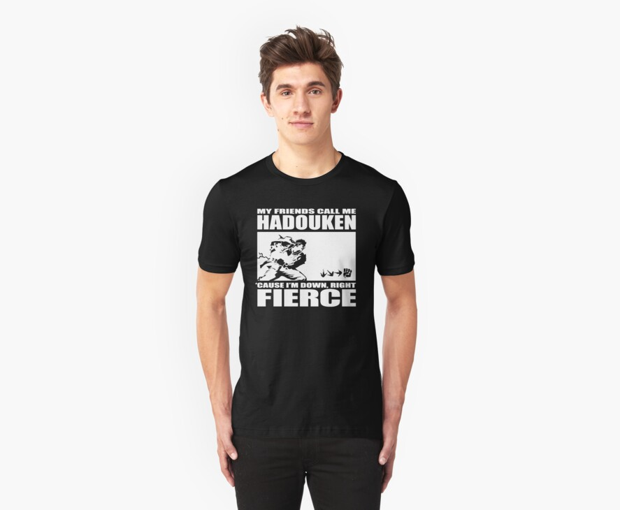 Street Fighter - Down, Right, Fierce by Habeeb