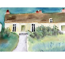 the Green's cottage Photographic Print