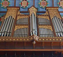 St Mary The Virgin, Petworth - Organ by Dave Godden