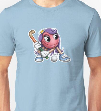Smiley - Hockey Chick T-Shirt
