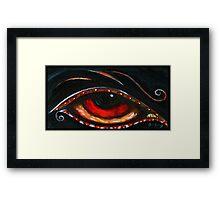 Indigo Eye Framed Print