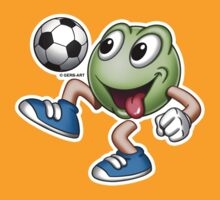 Smiley - Soccerplayer by GerbArt