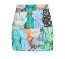 colored fabrics Mini Skirt