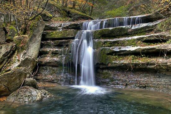 Acquacheta Waterfall - Italy by paolo1955