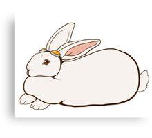 Goggles Bunny Canvas Print