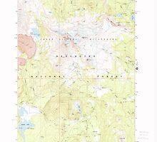 USGS Topo Map Oregon Broken Top 279146 1988 24000 by wetdryvac