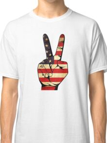 Peace Sign Classic T-Shirt