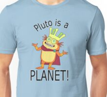 Pluto is a planet Unisex T-Shirt