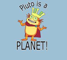 Pluto is a planet Unisex T-Shirt