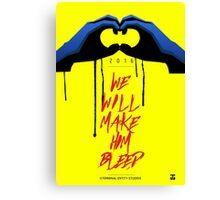 Batman (The Cape Crusader)  Canvas Print