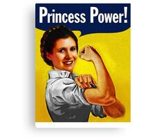 Princess Power! Canvas Print