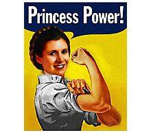 Princess Power! Photographic Print