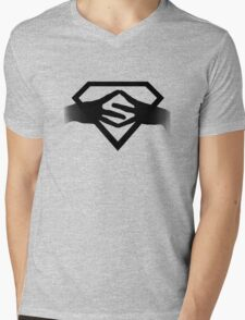 ||Superwoman|| Mens V-Neck T-Shirt