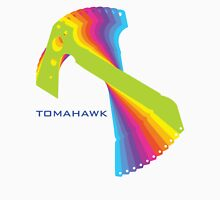 Flying tomahawk Unisex T-Shirt