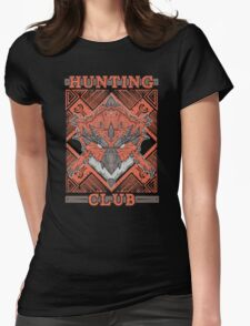 Hunting Club: Rathalos Womens Fitted T-Shirt
