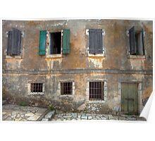 Seven Windows and a Door Poster