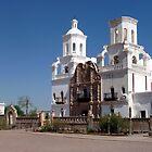 San Xavier del Bac by nealbarnett