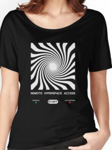 Remote Hyperspace Access Women's Relaxed Fit T-Shirt