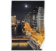 Chicago River ~ Chicago, IL Poster