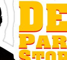 Dead Parrot Storage Sticker