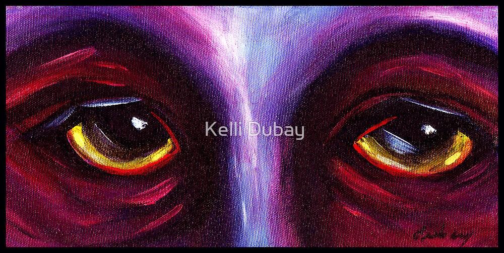 Purple Eyes by Kelli Dubay