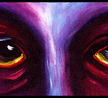 Purple Eyes by Kelli Dubay