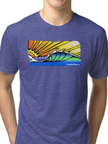Smooth Wave Tri-blend T-Shirt