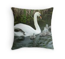 Hop aboard! Throw Pillow