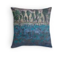 Lost Paradise of Mine Throw Pillow