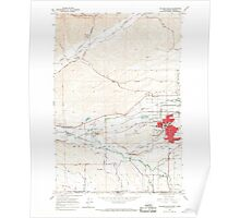 USGS Topo Map Washington College Place 240595 1966 24000 Poster