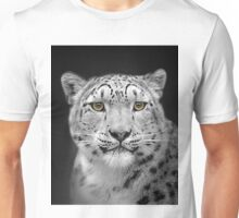 Endangered Snow Leopard Unisex T-Shirt