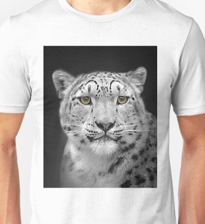 Endangered Snow Leopard Unisex T-Shirt
