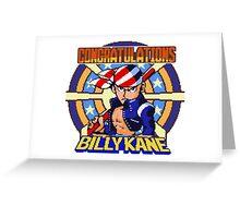 Billy Kane (C) Greeting Card