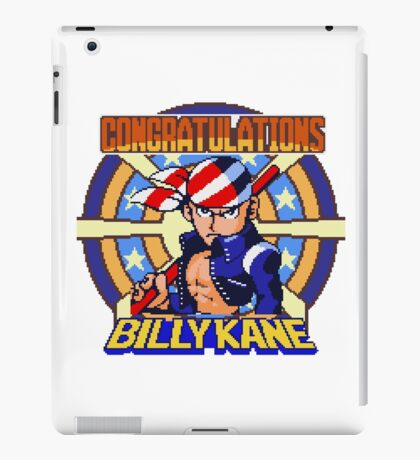 Billy Kane - SNK Sprite iPad Case/Skin