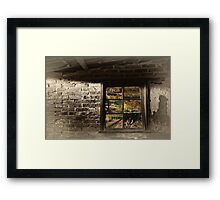 Reflected memories, Hill End Framed Print