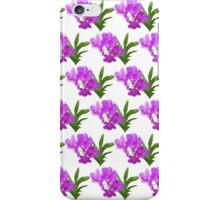 Orchid pattern 2 iPhone Case/Skin