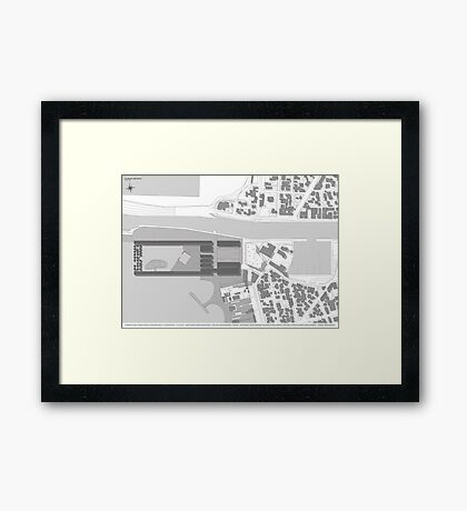 planivolumetric Framed Print