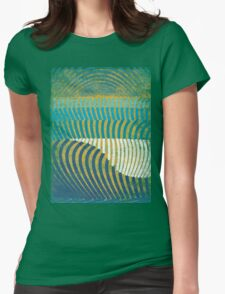 waves Womens Fitted T-Shirt