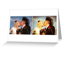 true believers before & after Greeting Card