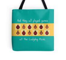 Ladybug Picnic Tote Bag
