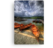 Windermere Boats Canvas Print