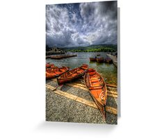 Windermere Boats Greeting Card
