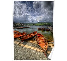 Windermere Boats Poster