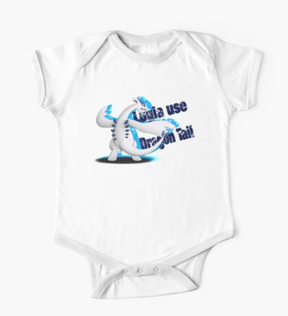 Lugia use Dragon Tail One Piece - Short Sleeve