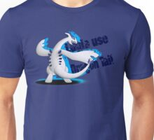 Lugia use Dragon Tail Unisex T-Shirt