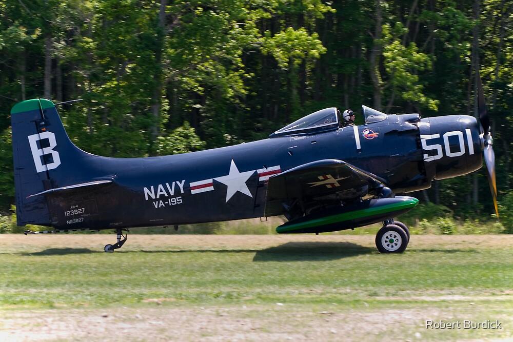 "1949 Douglas AD-4 ""Skyraider"" by Robert Burdick"