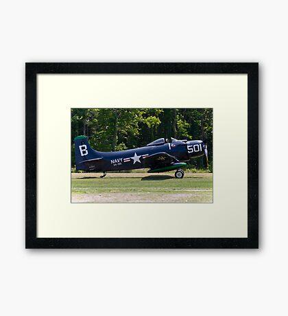 "1949 Douglas AD-4 ""Skyraider"" Framed Print"